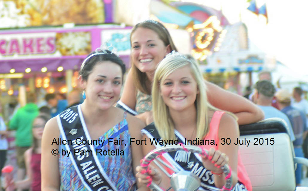 Enhanced photo of Indiana pageant winners, photo by Pam Rotella
